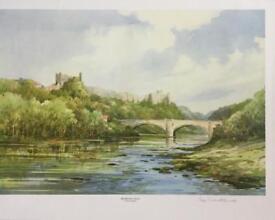Limited Edition Watercolour Print (Richmond Castle)