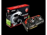 MSI Nvidia GTX 770 Gaming 2GB DDR5 TF Fan PCI-E Graphics Card