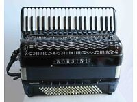 Borsini PL4117 Double Cassotto 120 Bass Piano Accordion
