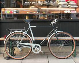 55cm MBK Country Vintage French Town Bike - 21.5 Inch Classic Steel City Bicycle / Commuter Cycle