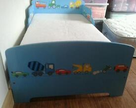 Toddler bed.