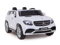 Licensed Mercedes GLS 63 AMG electric 12v ride on car with parental control two seater