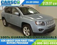 2014 Jeep Compass SPORT, 4X4, LEATHER, TRACTION, ALLOY