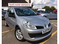 RENAULT CLIO 1.1 EXTREME 16V 3d 75 BHP (silver) 2007