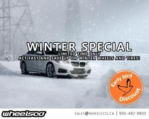 **WINTER EARLY BIRD PROGRAM** Winter Tires Wheels Package **WheelsCo**