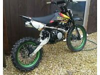 140 big wheel demon pitbike