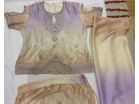 Indian/Pakistani modern Lengha size 14-16 blouse