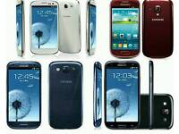 Brand New Orignal Samsung Galaxy S3 Uk Stock GT-I9300-16GB-Black,Blue,White(Unlocked)With Warranty