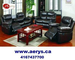 WHOLESALE FURNITURE HUGE SALE! ! CALL 4167437700! WWW.AERYS.CA sectional starts from $295