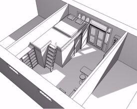 Studio Apartment in Victorian courtyard in Kinloss