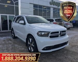 2014 Dodge Durango R/T| AWD| Leather| Sunroof| Remote Starter