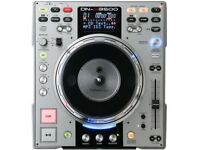DENON DN-S3500 Moving PLATTER cd DJ deck with SAMPLER EFFECTS direct drive classic 2 for sale