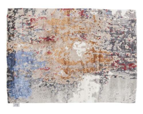 Verwonderend ≥ Handgetuft tapijt van Perzische wol, oranje grijs - Stoffering CJ-52