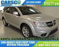 2012 Dodge Journey R/T, LOCAL, HEATD SEATS, BLUE TOOTH