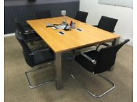 office meeting table boardroom conference