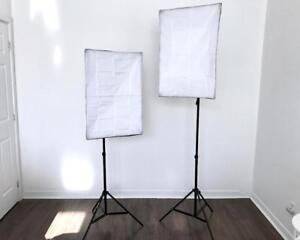 Product Photography Softbox Lighting Photographie de produit Éclairage Studio Kit 2024