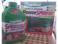 CUPRINOL POWER SPRAY AND FENCE PAINT