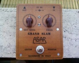 Grand Slam Wooden, high performance handmade clean booster