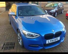 BMW 1 SERIES 3.0 M135I Auto (blue) 2014