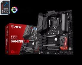 i7-7700K + MSI Z270 GAMING M5 + 16GB RGB RED DDR4 3200MHz + Win10 Pro