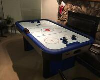 6-foot Long Air Hockey Table/ King, Queen Size Beds