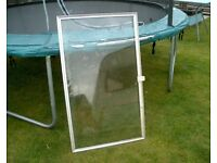 Used Secondary Glazing / Glass suitable for Cold frame Greenhouse etc.
