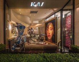 - HEAD WAITRESS / WAITER - CHEF DE RANG Michelin Star Restaurant - Kai Mayfair