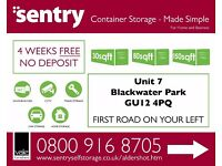 4 WEEKS FREE - LOCAL STORAGE UNITS AVAILABLE FOR BOTH RESIDENTIAL AND COMMERCIAL - VARIOUS SIZES