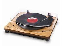 ION CLASSIC LP TURNTABLE, WOOD STYLE.