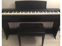 Digital piano kawai and stool