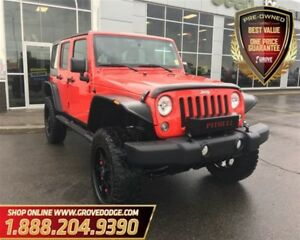 2015 Jeep WRANGLER UNLIMITED Sport| 4X4| Modified Suspension| Li