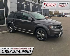 2015 Dodge Journey Crossroad w/ DVD Player, AWD, Leather Seats,