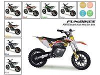 Mini Dirt Bike Electric FunBikes MXR 36v 500w Kids Scrambler Motorbike Ride On