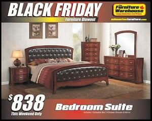 BLACK FRIDAY Bedroom Set Deal- Only $838