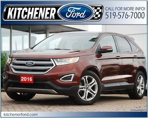 2016 Ford Edge Titanium **AWD/LEATHER/HTD&CLD SEATS/PANO ROOF...