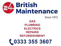 Gas heating engineer, Boiler installation, Repair, Safety Check, Cooker and Hob, electrician