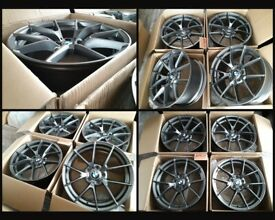 """HT358* NEW 19"""" ALLOY WHEELS ALLOYS GREY BMW 6 2 3 4 5 SERIES 763M M PERFORMANCE COMPETITION CS"""