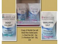Westlab Bath sea salts