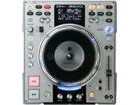 2 x DENON 3500 cd decks in custom padded box Moving platters DJ mix gear CAN SPLIT pair