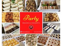 High Quality Fresh Party Snacks/Sandwiches & Desserts on Sale