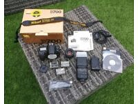 Nikon D700 + 50mm f1.8D Full Frame KIT + Speedlite Flash