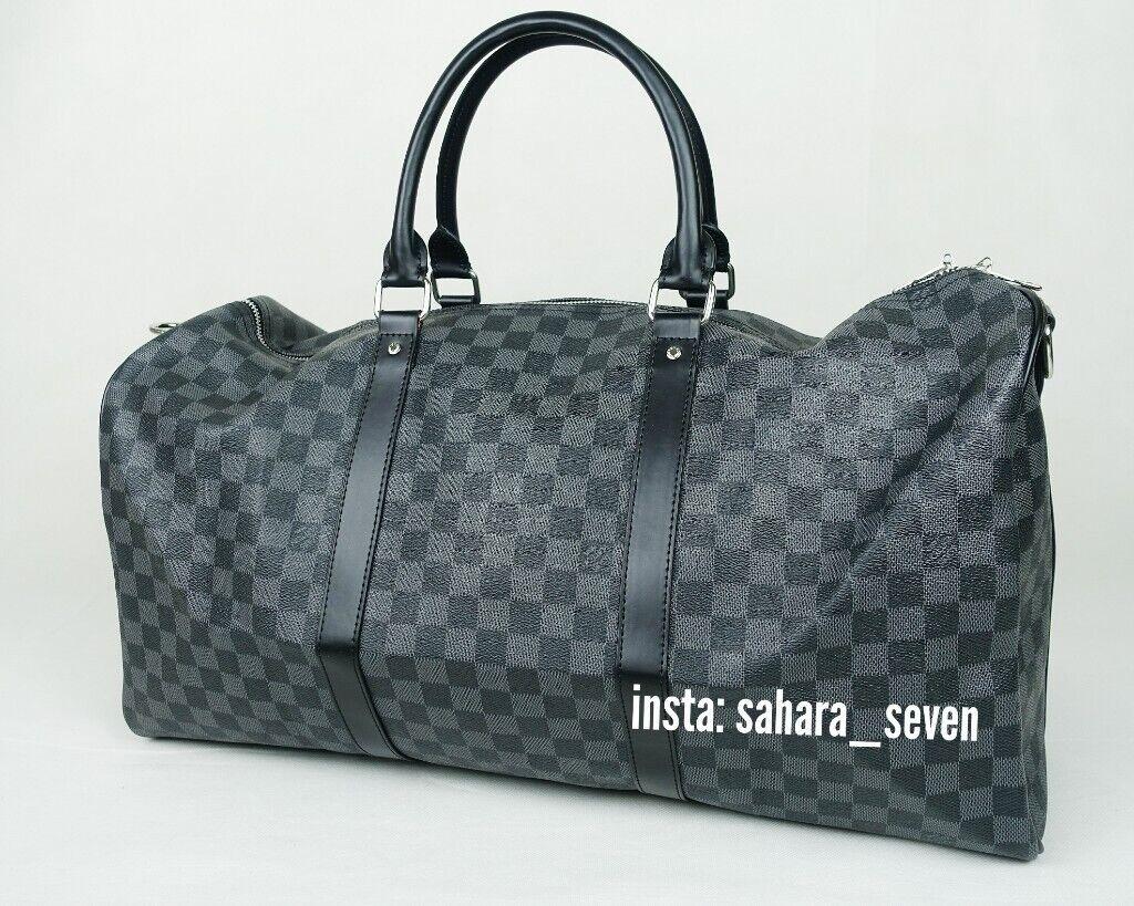 Gym bag Lv Holdall Louis Vuitton Handbag Backpack £65