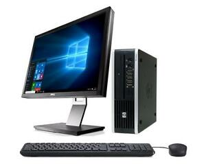 Mega Solde: Ordinateur HP 8000 Elite Ulra Slim Intel Core 2 Duo Memoire 4GB 160GB Win 7