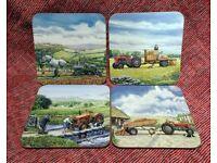 Border Fine Arts Tractor Coasters