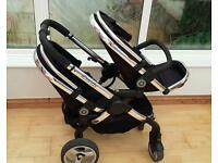 Icandy peach blossom double pushchair