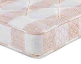 *DISCOUNTED PRICES * NEW DOUBLE DEEP QUILT MATTRESS ONLY ** £70 ** 14 DAYS CASH BACK GUARANTY **