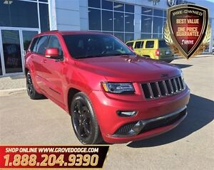 2015 Jeep Grand Cherokee Overland| Low KM| Leather| Sunroof| Nav