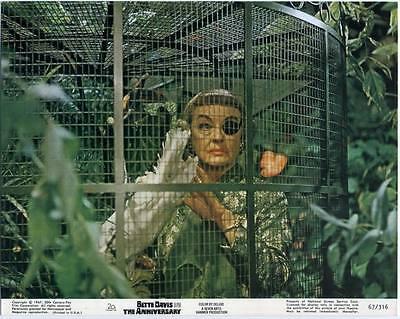 ANNIVERSARY 1968 Bette Davis HAMMER 10x8 LOBBY CARD #2