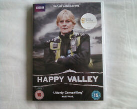 HAPPY VALLEY SERIES 1 DVD, NEW STILL SEALED