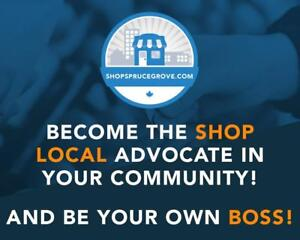 Become the Shop Local advocate in Spruce Grove... and be your own boss!